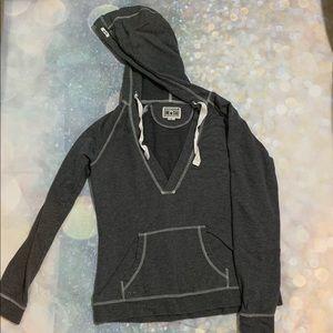 Converse ONE STAR gray Sweatshirt Hoodie